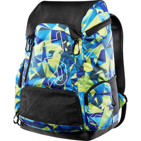 TYR Alliance Geo Print Mochila 45L, blue/green